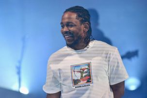 2 Kendrick Lamar laughing